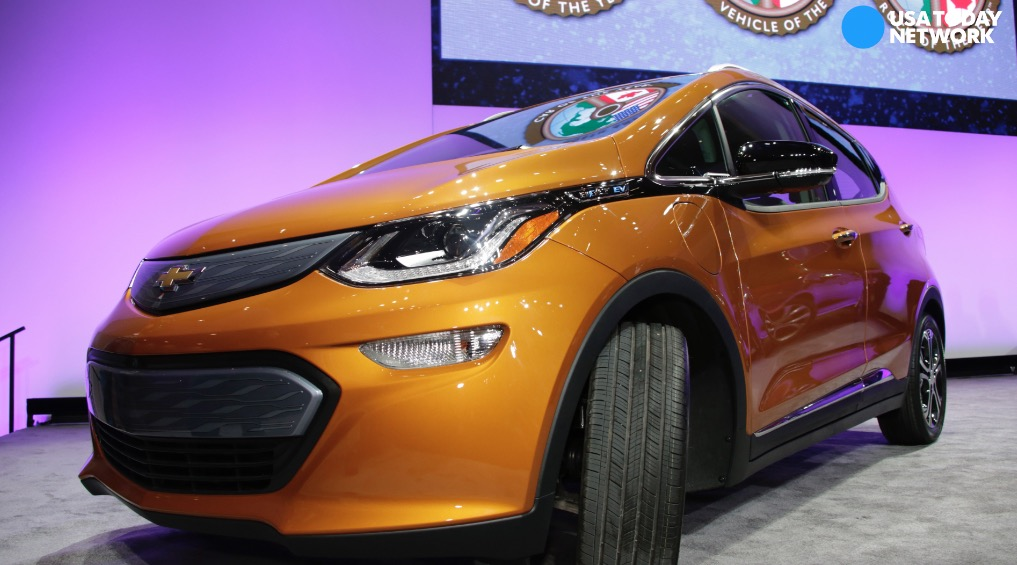GM's Chevrolet Bolt named North American Car of the Year