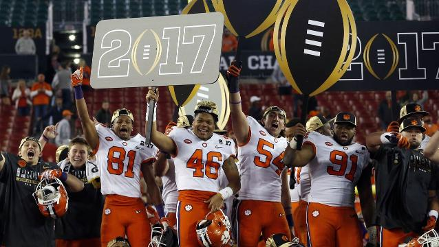Clemson rallies past Alabama in thrilling title game
