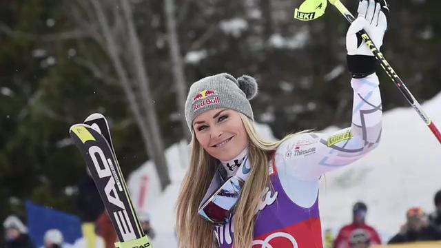 Vonn recently returned to racing after nearly a year out with knee and arm injuries.