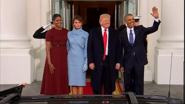 Fashion expert Hal Rubenstein talks about who wore what and how they wore it on Inauguration Day. (Jan. 20)