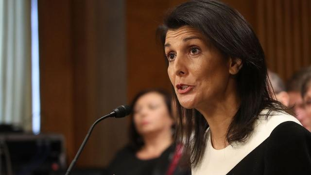 South Carolina Gov. Nikki Haley is up for the position of U.S. ambassador to the United Nations. Video provided by Newsy