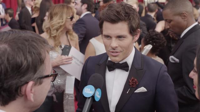 On the SAG Awards red carpet, actors recall some of the talents they've faked in order to get a role and embarrassing audition stories.