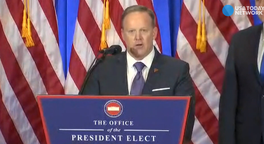 Trump spokesman: Publishing Russian report, 'sad, pathetic'