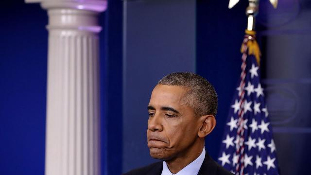 President Obama's last press conference was full of worry