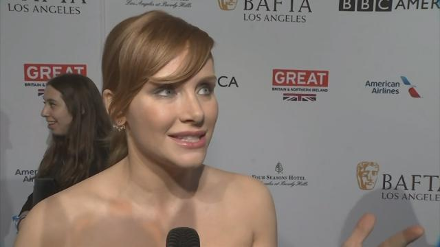 At the annual BAFTA Tea Party in Los Angeles, Golden Globe nominees including Bryce Dallas Howard, Naomie Harris and Riz Ahmed reveal how they will prepare for Sunday's ceremony. (Jan. 8)