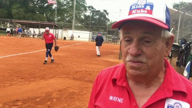 Seniors Swing Away In Florida Softball League