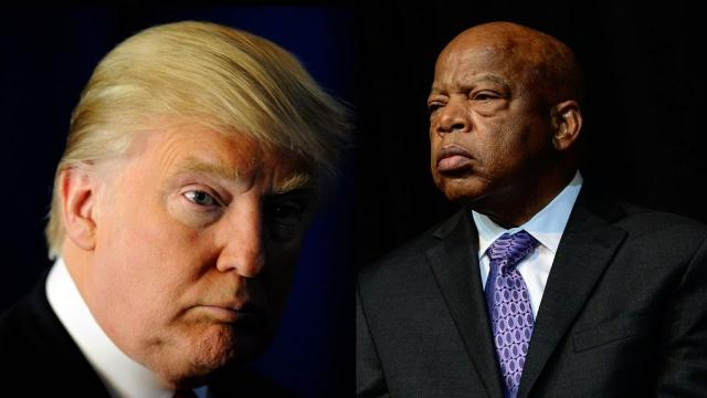 Obama administration urges Trump to 'reach out' to John Lewis
