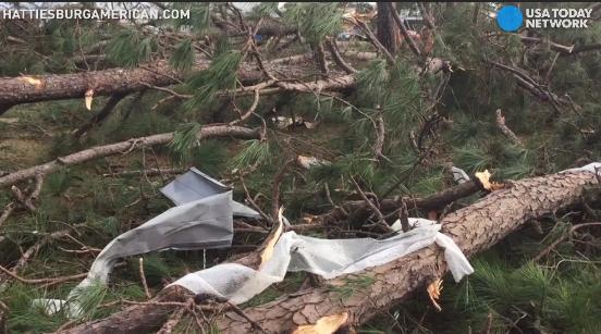 Deadly tornadoes ripped through parts of Georgia and Mississippi, leveling many homes and businesses.