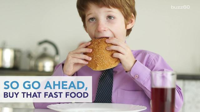 The fast-food items you shouldn't order for your kids