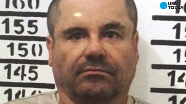 """Notorious Mexican drug lord Joaquin """"El Chapo"""" Guzman has been extradited from a prison in northern Mexico to the United States."""