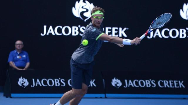No. 117-ranked Denis Istomin defeated six-time champion and No. 2 Novak Djokovic in the second round at the Australian Open.