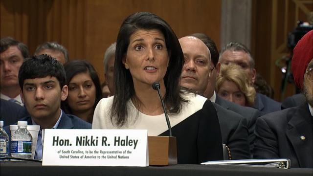 Haley Supports Moving US Embassy to Jerusalem