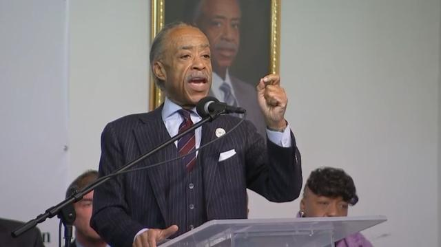 On MLK Day: Sharpton Sends Message To Trump