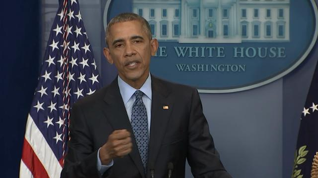 President Barack Obama says he doesn't think the expansion of LGBT rights in the U.S. is reversible.  At his final press conference, Obama said that U.S. attitudes have changed too much to turn back the clock on these issues. (Jan. 18)