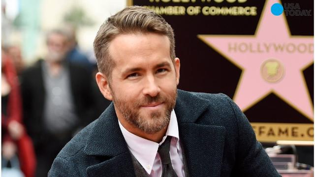 Ryan Reynolds was named Man of the Year by Harvard University's Hasty Pudding Theatricals student group.