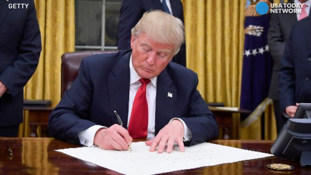 President Trump has wasted no time wielding his presidential pen, signing orders on trade, hiring and abortion in his few first days in office. Here's a breakdown of what an executive order is and how it can be repealed.