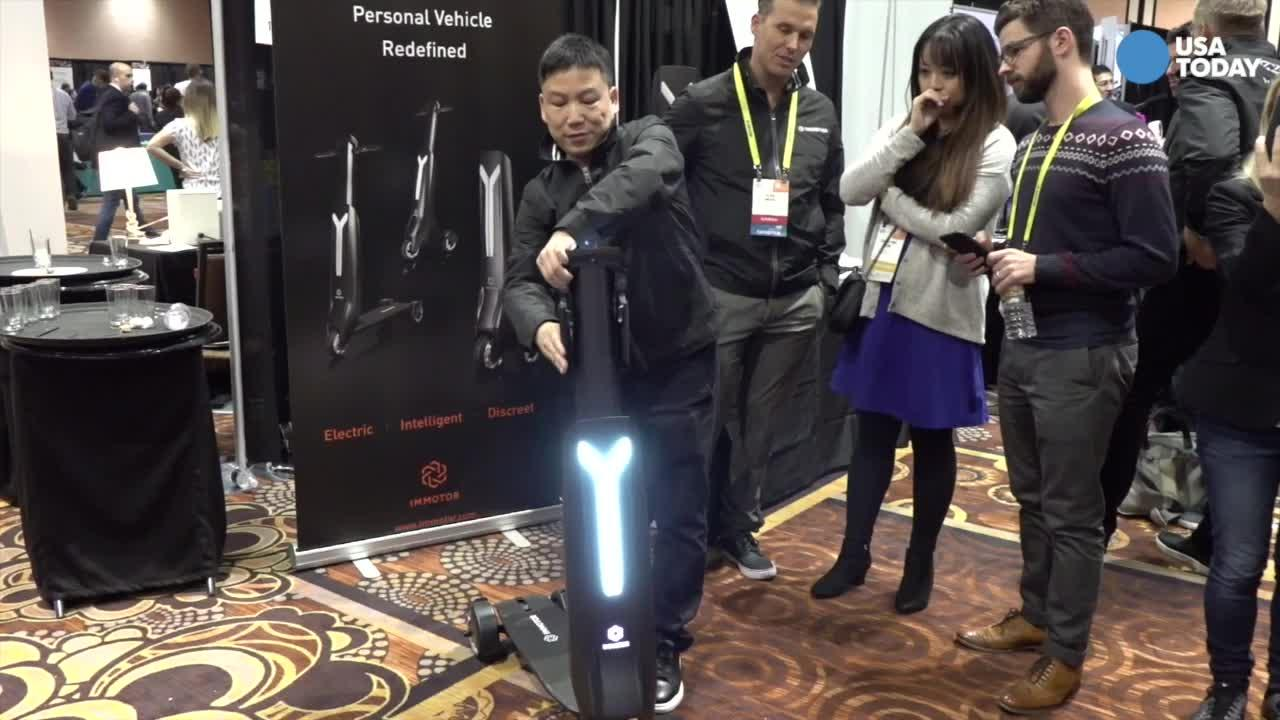 Mophie co-founder's electric scooter
