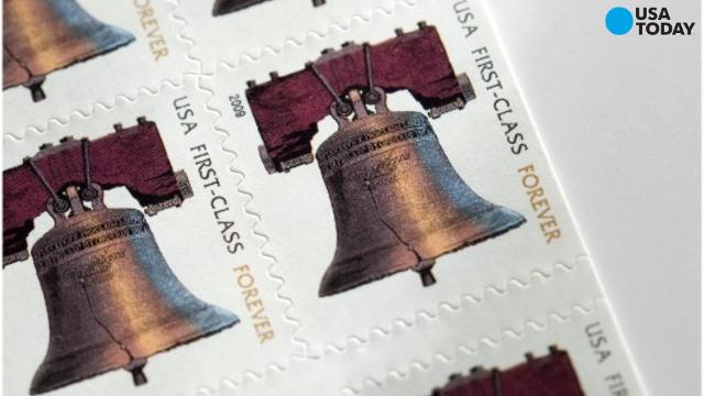 Cost of stamp to mail a letter