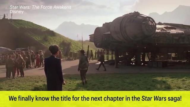 At long last, the next chapter in the Star Wars saga films has a title.