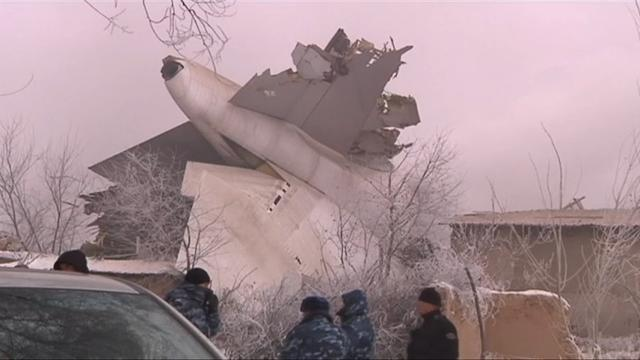 Over 30 dead in Kyrgyzstan plane crash