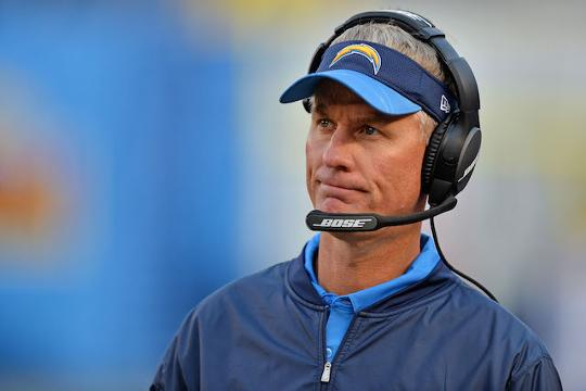 San Diego Chargers fire coach Mike McCoy