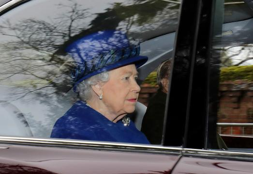 In her first public appearance in several weeks, Queen Elizabeth II attended church near her rural Sandringham estate, after missing the previous two Sundays due to ill health. (Jan. 8)