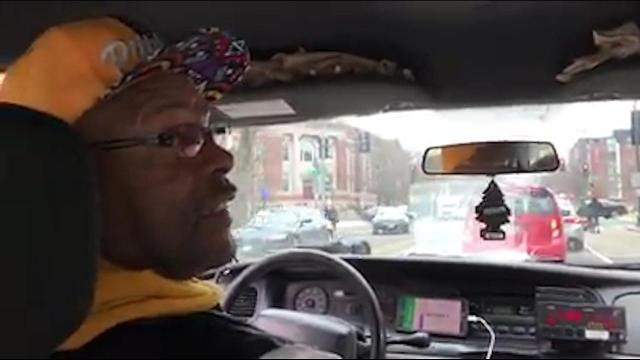 Cab driver Sam Snow couldn't say enough good things about John Elway...but he didn't realize the Broncos legend was right there in the back seat.