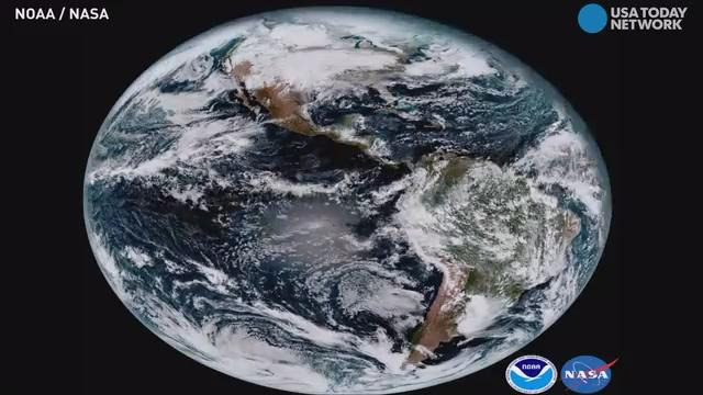 The USAs Newest Weather Satellite Sends First Photos Think Hi - Newest satellite images