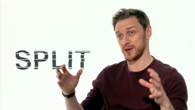 James McAvoy's split personalities
