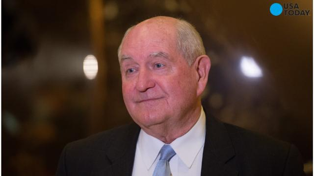 Sonny Perdue Is Trump's pick for agriculture secretary