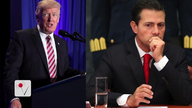 After talks, Mexico says at 'impasse' with Trump over wall payment