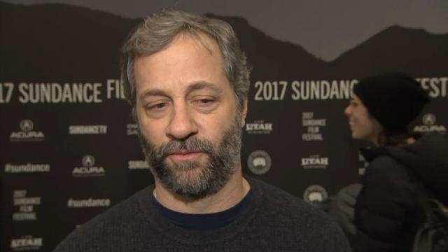 Apatow, Hunter happy to miss the Inauguration