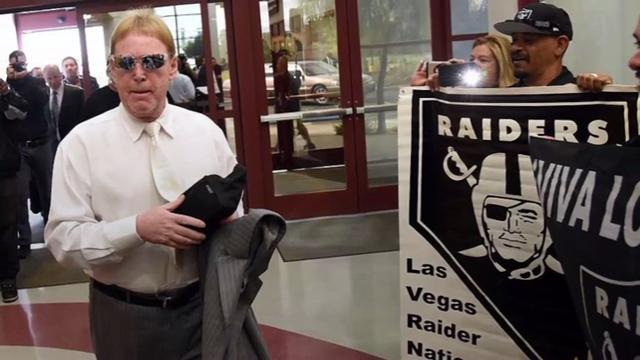 The Oakland Raiders have officially filed paperwork to relocate to Las Vegas.