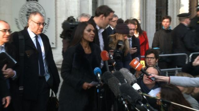 """Britain's Supreme Court rules the government must win parliament's approval before beginning Brexit negotiations in a landmark judgement that also said regional lawmakers had no say. The lead claimant, investment fund manager Gina Miller, said: """"No prime minister, no government can expect to be unanswerable or unchallenged."""" Video provided by AFP"""