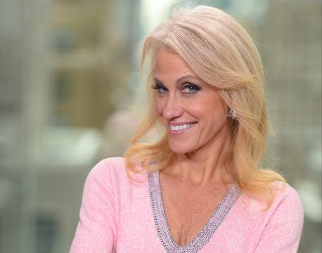 Kellyanne Conway was President-elect Donald Trump's