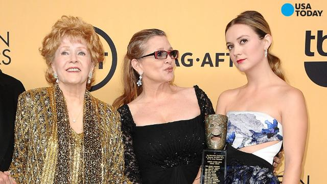 Billie Lourd has broken the silence on the deaths of her mother and grandmother.