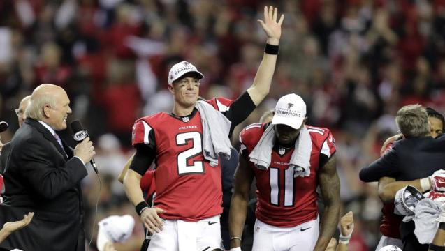 Falcons and Patriots advance to Super Bowl LI