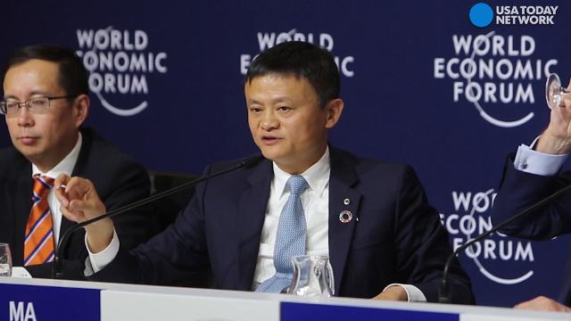 Chinese billionaire Jack Ma explains how his partnership with the International Olympic Committee will work against counterfeit Olympic-branded products.