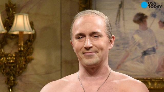 Instead of seeing Alec Baldwin as Donald Trump in the first Saturday Night Live episode following our new president's inauguration, we were given Beck Bennett's shirtless Putin.