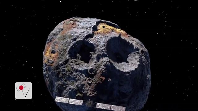 NASA is going to visit an asteroid worth $10,000 quadrillion