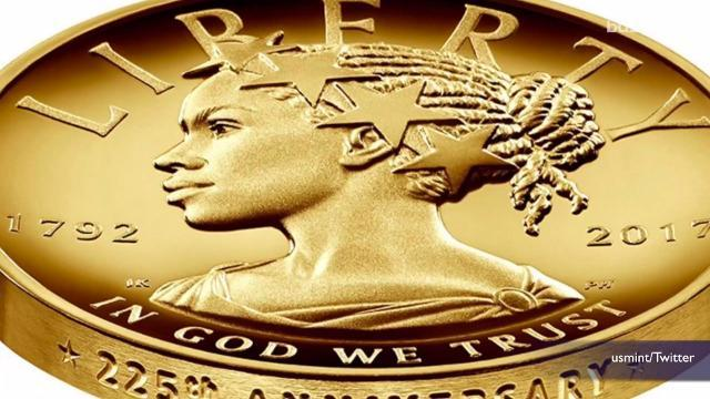 After 225 years, Lady Liberty portrayed as woman of color on new coin