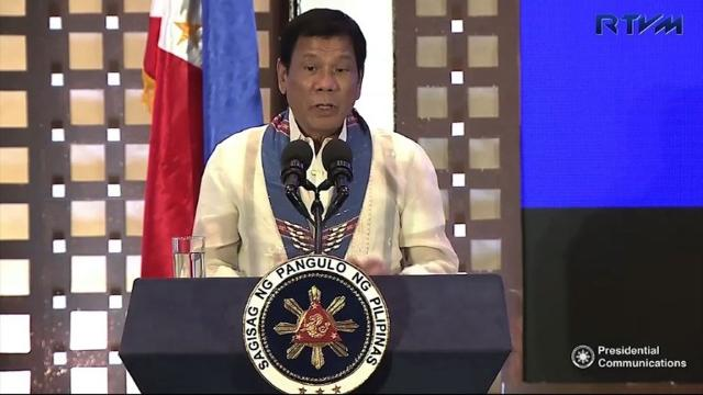 """Philippine President Rodrigo Duterte threatens to impose martial rule to prosecute his deadly war on drugs, three decades after the nation shed dictatorship with a famous """"People Power"""" revolt. Video provided by AFP"""