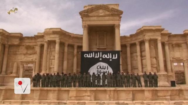 The Islamic State has destroyed Roman monuments after retaking the Syrian city of Palmyra. Matt Hoffman has the story.