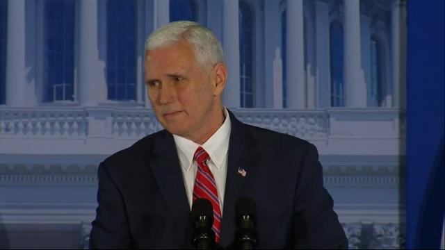 pence tells congress to buckle up and get ready to enact major change