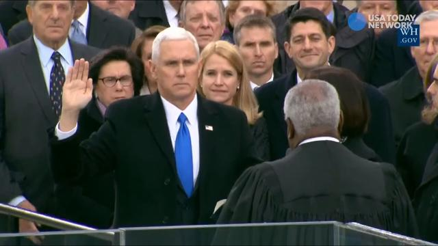 Mike Pence is now the vice president of the United States