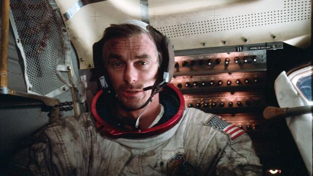 Eugene Cernan died as the latest man to walk on the moon. He had hoped he wouldn't be the last.