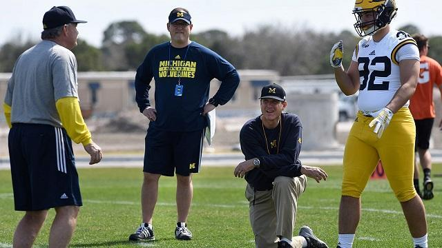 NCAA passes 'Harbaugh rule' banning spring break practice trips