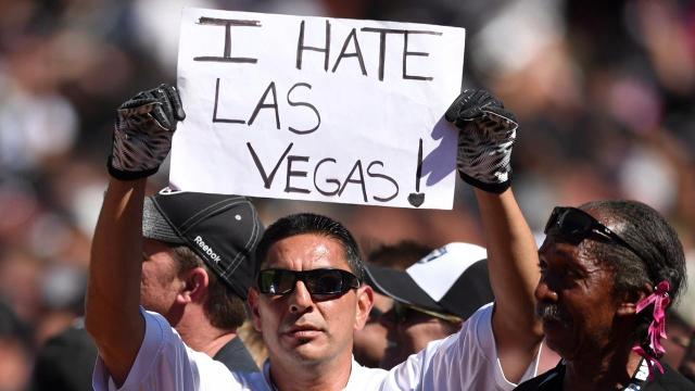The Raiders have made their first step toward moving to Las Vegas by filing their relocation paperwork, Clark County Commission Chair Steve Sisolak announced Thursday.