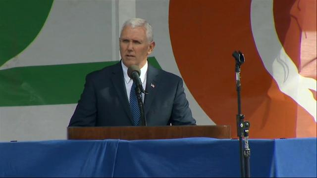 Pence at March for Life: 'Life is winning again'