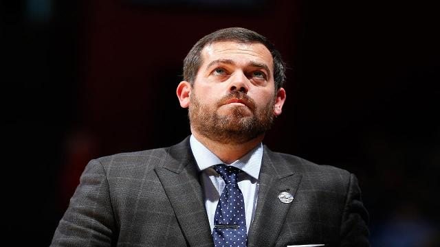 """Former Kentucky player and Manhattan head coach Steve Masiello went on a rant after his team lost to Siena, calling society as a whole """"fraudulent."""""""